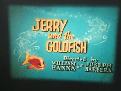 TOM & JERRY 1973 Super 8mm film Jerry and the Goldfish Colour & Sound Film
