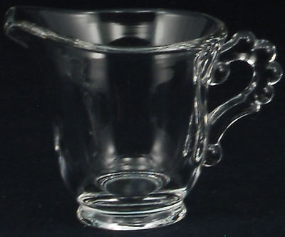 Imperial Glass Candlewick Clear #3400 Individual Creamer #1