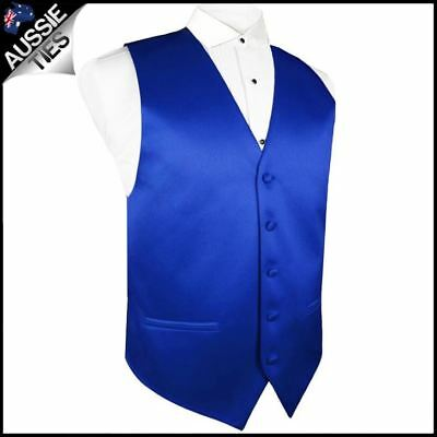 "Boys Royal Blue Waistcoat Vest 24"" / 62cm Boy's Kids' Wedding"
