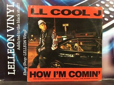 "LL Cool J How I'm Comin' 12"" Single Vinyl 659169 Rap Hip Hop 90's Def Jam"