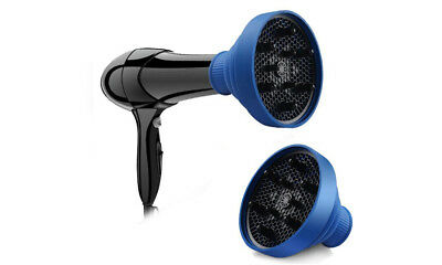 UK Collapsible Silicone Hair Diffuser for Blow Dryer-Blue