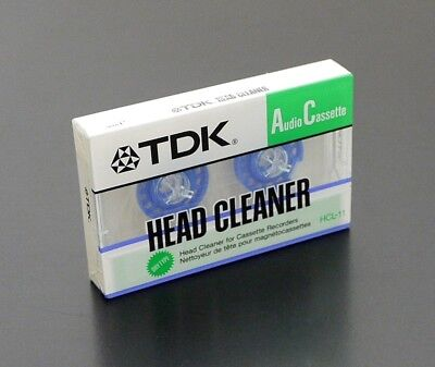 Original TDK HCL-11 Head Cleaner Tape/Reinigungskassette OVP/NOS