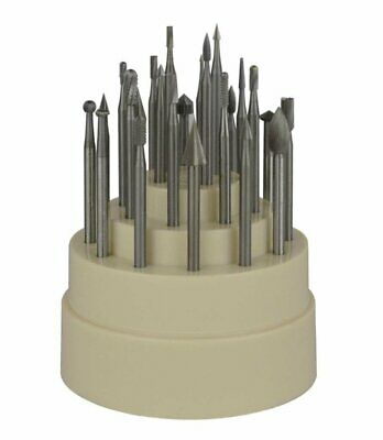 "24 Piece Assorted Bur Set w/ 3/32"" Shanks Jewelry Making Bur Cutting Tools"