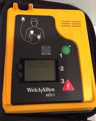 Welch Allyn AED 10 with New (Training) Pads and New Battery!