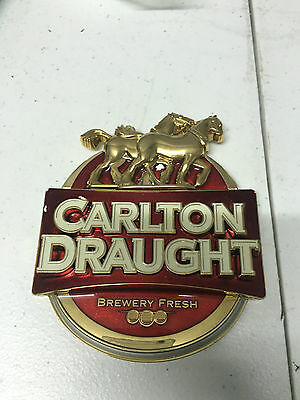 Carlton Draught front of Bar Tap logo