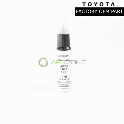 """Genuine Toyota White Pearl Touch-Up Paint Pen Factory """"070"""" Oem 00258-00070-21"""