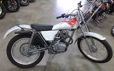1973 Honda TL125  1973 Honda TL125 Trials Bike