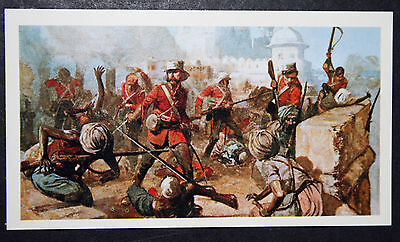 61st Foot  Gloucestershire Regt   Indian Mutiny    Action Card # VGC