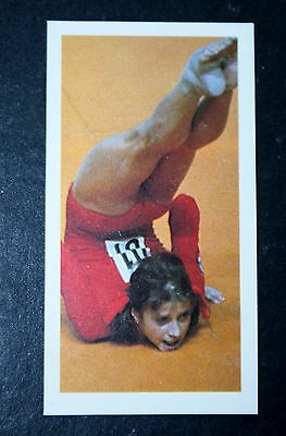 USSR  Gymnast  Olga Korbut   USSR  Photo Card  #  VGC