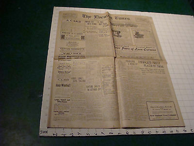 1905 The Evening Times Pawtucket RI - 3-13: Unfrocket priest on trial - NY dope
