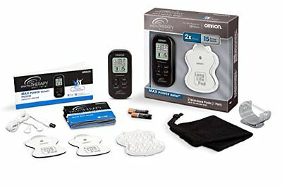Omron Max Power Relief Tens Unit Electrical Nerve Stimulator For Body Pains! New
