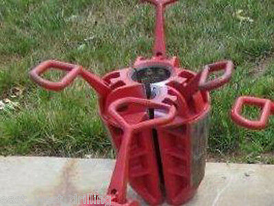"SDML 4-1/2"" DP Slip NEW; Drill Pipe Centralizer Spider Casing Hoist Lifter Winch"