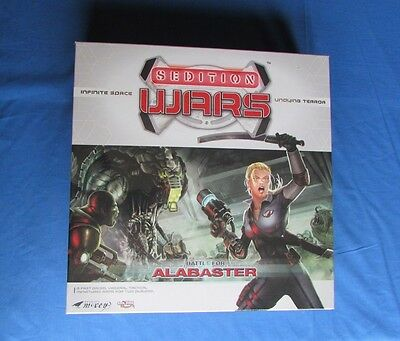 Sedition Wars Battle For Alabaster - Board Game - Studio McVey - Boxed