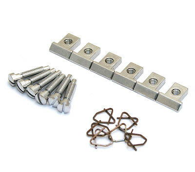 Chrome Saddles for Pre-2001 Gibson® Nashville Tune-O-Matic Bridge BP-0305-010