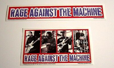 Rage Against The Machine Lot of 2 Decal Stickers 90's