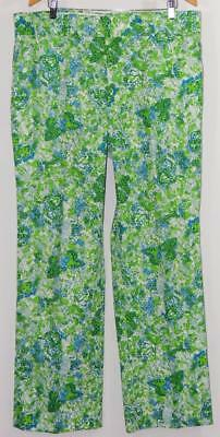 Vintage Rare Lilly Pulitzer Mens Stuff Palm Beach Butterfly Print Pants 38 X 32