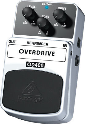 Behringer OD400 - Ultimate Overdrive Effects Pedal - NEW!