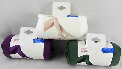 New, Xhilaration® Womens Opaque Tights Nylon, Spandex Pantyhose ( Pack of 3 )