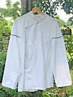 Robur Professional Chefs Coat European Size 3 White Halloween Costume