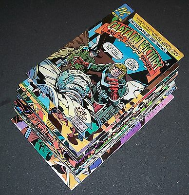 Lot/8 CAPTAIN VICTORY & the Galactic Ranger X 2 3 4 X 6 7 8 9 + Sp# 1 Jack Kirby