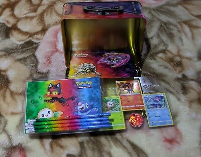 Pokemon Spring 2017 Collectors Chest - Solgaleo Lunala Tin - No boosters / Album
