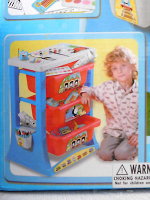 Thomas & Friends 3 activity drawers / Plastic drawing colouring table / VGC