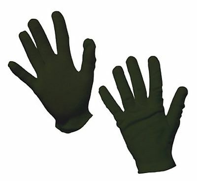 Child's Black Cotton Gloves For Costumes