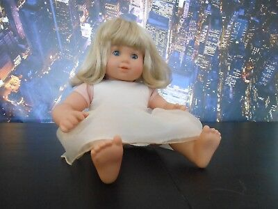American Girl Bitty Baby Girl Doll Blonde As-Is Outfit VGC