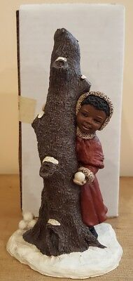 All Gods Children SAMANTHA Christmas 1991 Resin Art By Martha Holcombe  with box