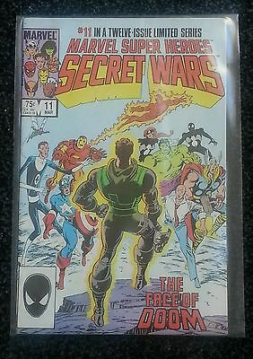 Marvel Super Heroes Secret Wars comic - issue 11