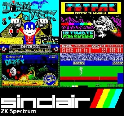 Sinclair ZX Spectrum console Emulator for Windows over 8000 handpicked games