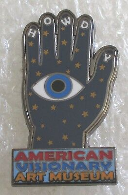American Visionary Art Museum-Baltimore, Maryland Souvenir Collector Pin-HOWDY
