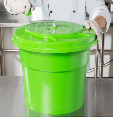 NEW! Commercial Choice 5 Gallon Manual Salad Spinner Dryer Washer Restaurant