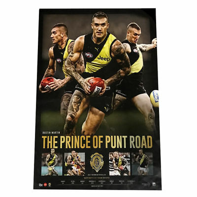 Dustin Martin 2017 Afl Brownlow Medallist Prince Of Punt Road Official Afl Print