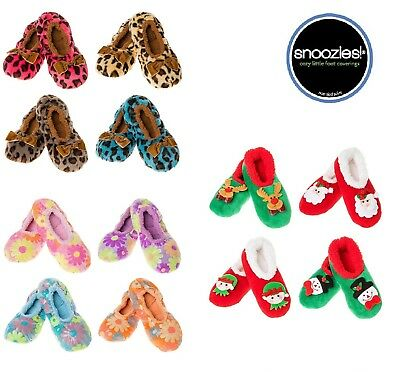 Snoozies Slippers Non Slip Womens Ladies Warm Comfy Indoor Slippers Size -S - L