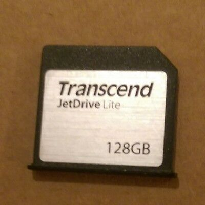 "Transcend JetDrive Lite 130 Storage Card 128GB for 13"" MacBook Air 2010 - 2015"