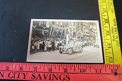 1915 RPPC Gloversville,NY July 3rd Independence day parade