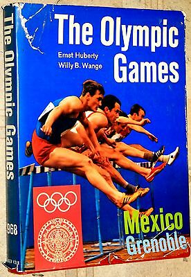 OLYMPIC GAMES 1968 MEXICO GRENOBLE (Huberty & Wange) ENGLISH EDITION - Rare