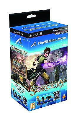 Sony PlayStation 3 Move Starter Pack with Sorcery and Navigation Controller NEW
