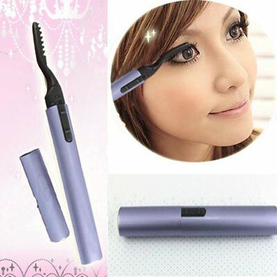 Electric Pen Style Heated Eyelash Curler Beauty Eyes Lashes Maker Lasting Makeup