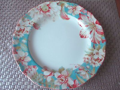 222 Fifth Eliza Teal Dinner Plates Set of 4 • $39.99 - PicClick