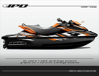 IPD GH Design Graphic Kit for Sea Doo Gen-2 GTX, Wake Pro 215, RXT & RXT-X 260