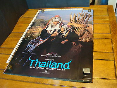 """THAILAND POSTER Approx.23.5 x 36"""" ca 1980s """"Motherly Love"""""""