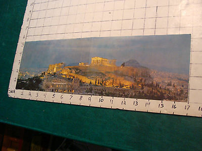 vintage travel item: INVEST IN GREECE from Diamantis Bros. w PARTHENON PRINT