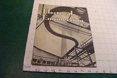 ELECTRICAL ENGINEERING march 1939 - New England hurricane power stuff, etc