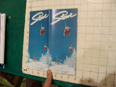 Vintage High Grade brochure: STOWE 1975, 20 double size pages