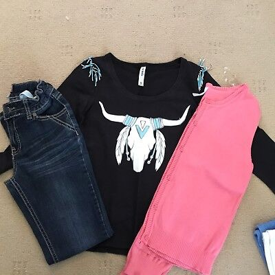 Girls Just Jeans / Piping Hot Outfit Size 10