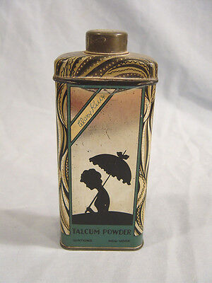 Mary King  Talcum Powder Tin  by Watkins  of New York