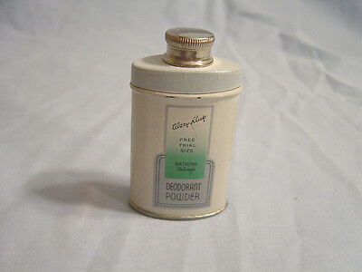 J. R. Watkins Co. - Mary King  Sample Deodorant  Powder Tin