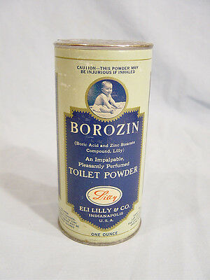 Borozin Toilet Powder  by  Eli Lilly & Co. of Indianapolis